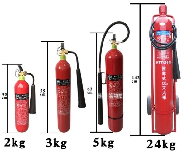 烟台灭火器中二氧化碳灭火器的作用机理是什么?