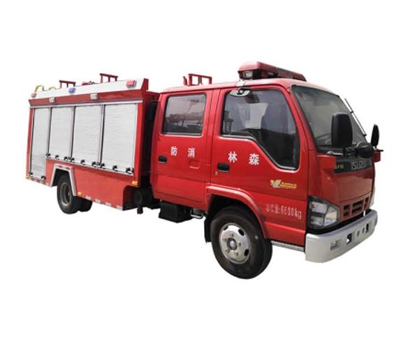 森林远程水罐消防车